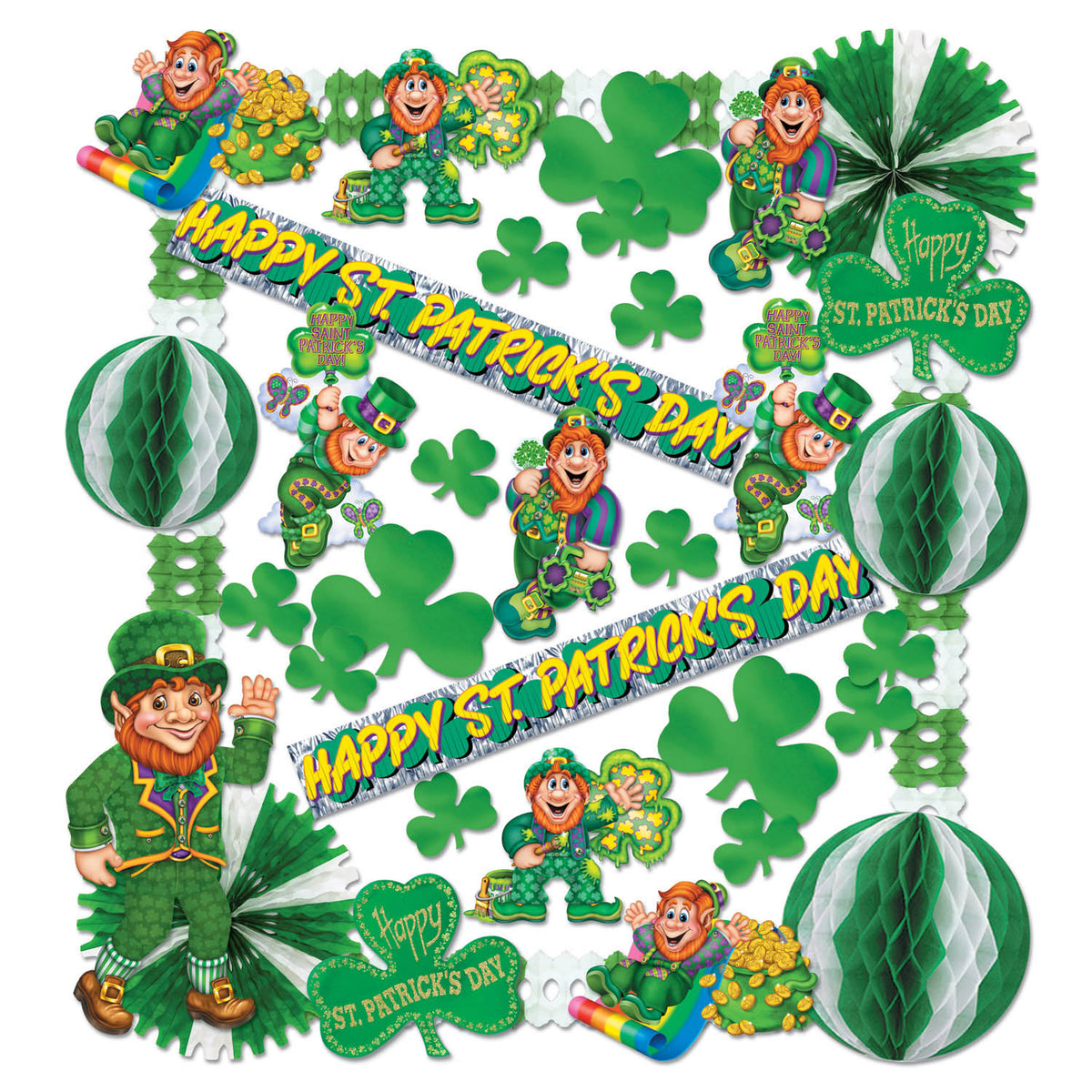 St Patrick Decorating Kit - 37 Pcs