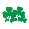 St. Patricks Day Party Supplies - Printed Shamrock Cutout