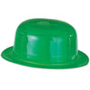 Beistle Green Plastic Derby (Pack of 48) - St. Patricks Day Party Supplies, St. Patricks Day Stuff to Wear