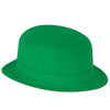 St. Patricks Day Party Supplies - Green Velour Derby