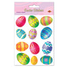 Easter Party Supplies - Color Bright Egg Stickers