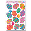 Easter Party Supplies - Color Bright Egg Clings