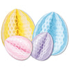 Easter Party Supplies - Tissue Eggs