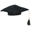 Graduation Party Supplies - Plush Graduate Cap - black