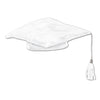 Graduation Party Supplies - Plush Graduate Cap - white