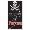 Pirate Party Supplies - Beware Of Pirates Door Cover