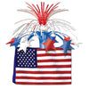 Patriotic Party Supplies - American Flag Centerpiece