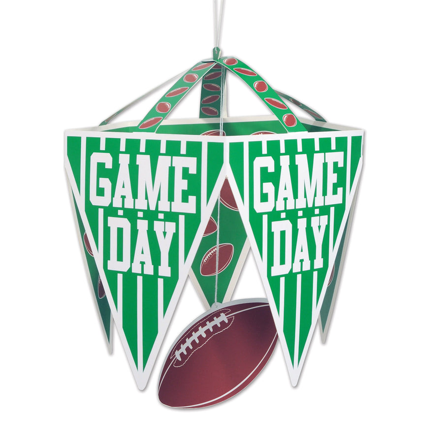 Sports party supplies tagged football party supplies bulk party game day pennant chandelier arubaitofo Gallery