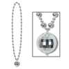 Disco Ball Beads with Disco Ball Medallion