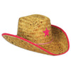 Child Cowboy Hat with Star & Chin Strap