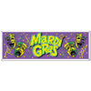 Mardi Gras Party Supplies - Mardi Gras Sign Banner