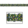 Gleam 'N Fest Festooning Garland - gold, green, purple