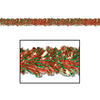 Gleam 'N Fest Festooning Garland - red & green