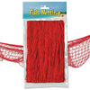 Luau Party Supplies - Fish Netting - red