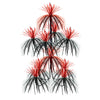 Party Decorations - Firework Chandelier - black & red