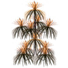 Firework Chandelier - orange & black