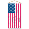 American Flag Door/Wall Panel, party supplies, decorations, The Beistle Company, Patriotic, Bulk, Holiday Party Supplies, 4th of July Political and Patriotic, 4th of July Party Decorations, Miscellaneous 4th of July Party Decorations
