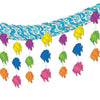 Luau Party Supplies - Tropical Fish 3-D Sky-Scape