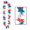 Patriotic Party Supplies - Patriotic Star Party Lei