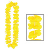 Luau Party Supplies - Silk 'N Petals Party Lei - yellow