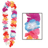 Silk 'N Petals Parti-Color Lei - multi-color