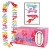 Luau Party Supplies - Floral Lei - multi-color