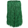 Luau Party Supplies - Adult Raffia Hula Skirt - green