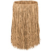 Luau Party Supplies - Adult Raffia Hula Skirt - natural