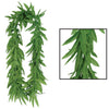 Beistle Tropical Fern Leaf Lei (Pack of 12) - Luau Party Leis, Luau Party Supplies, Luau Stuff to Wear