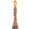 Luau Party Supplies - Jointed Floral Tiki Torch