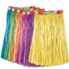 Adult Artificial Grass Hula Skirt - assorted colors