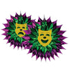 Mardi Gras Party Supplies - Mardi Gras Fan-Burst