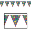 Graduation Party Supplies - Congrats Grad Pennant Banner