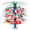 Party Supplies - International Flag Cascade Centerpiece