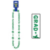 Congrats Grad Beads-Of-Expression - green