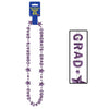 Congrats Grad Beads-Of-Expression - purple