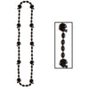 Football Party Supplies - Football Beads - black