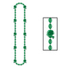 Football Party Supplies - Football Beads - green