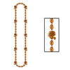 Football Party Supplies - Football Beads - orange
