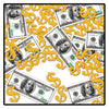 Casino Party Supplies - Big Bucks Print-Fetti