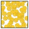 Party Confetti - Fanci-Fetti Smile Faces - yellow