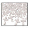 Religious Party Supplies - Fanci-Fetti Crosses - silver