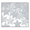 Awards Night Party Supplies - Fanci-Fetti Stars - silver