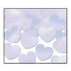 Party Decorations - Fanci-Fetti Hearts - opalescent