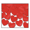 Party Decorations - Fanci-Fetti Hearts - red