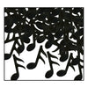 Fanci-Fetti Musical Notes - black