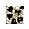 Fanci-Fetti Top Hats & Mini Stars - black & gold