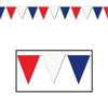 Patriotic Party Supplies - Outdoor Pennant Banner