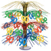 Birthday Party Supplies - ''90'' Cascade Centerpiece