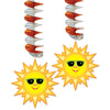 Spring & Summer Party Supplies - Sunburst Danglers